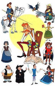 Cosas que he encontrado en Pinterest... Tema: niños Cervantes y Don Quijote de La Mancha