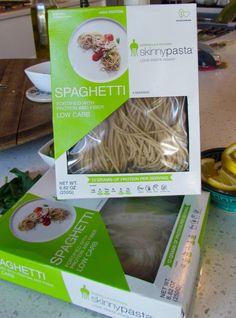 #skinnypasta™ fresh spaghetti! One box has only 110 #calories 13g of #PROTEIN and only 10g net carbs + 5g of fibre! Click on the link to learn more about our delicious fresh pasta. #skinnypasta #spaghetti #HIGHPROTEIN #LOWCARB #LOWCAL #freshpasta #healthy