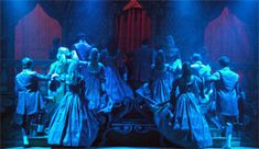 Harlow Playhouse. Cinderella Design - Malvern Hostick Copyright ©.
