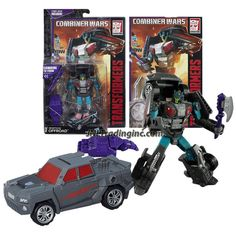 Hasbro Year 2014 Transformers Generations Combiner Wars Series 5-1/2 Inch Tall Robot Figure - Decepticon OFFROAD with Battle Axe, Menasor's Left Foot and Comic Book (Vehicle Mode: Pick-Up Truck)