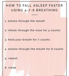 New Medical Insights for Achieving Your Best Night's Sleep How to fall asleep faster