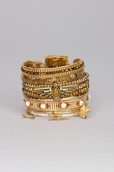Personalized Photo Charms Compatible with Pandora Bracelets. Multi bracelets Ohmygold Doré Hipanema sur MonShowroom.co