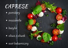 Find ingredients on white. Cherry tomatoes: red and yellow. little mozzarella. olive oil with balsamic vinegar and oregano Stock Images in HD and millions of other royalty-free stock photos, illustrations, and vectors in the Shutterstock collection. Caprese Salad, Mozzarella, Pesto, Lunch, Recipies, Vegetables, Food, Recipes, Eat Lunch