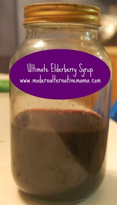 Monday Health and Wellness: Ultimate Elderberry Syrup | Modern Alternative Mama