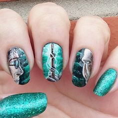 Uñas inspiradas en harry potter (10)