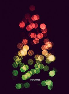 christmas tree bokeh - Edward McGowan