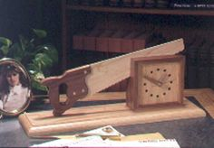 Cutting-time-in-half Shelf Clock Woodworking Plan from WOOD Magazine