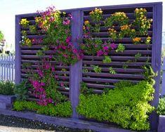 Unusual Ways to Cover Walls | Growing Up: 10 Inventive DIY Vertical Gardens