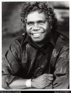 Vale  Mandawuy Yunupingu 1997 portrait by  Jacqueline  Mitelman 17 September 1956 – 2 June 2013)