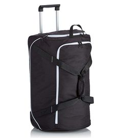 Jolly Suitcase Trolley Carry On Hand Cabin Luggage Hard Shell Travel Bag Lightweight 4 Spinner Wheels Color : Black