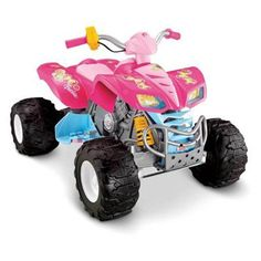 Have to have it. Fisher-Price Barbie Kawasaki KFX ATV with Monster Traction Riding Toy $229.99