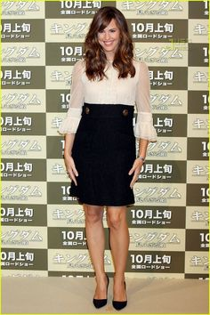 jennifer garner kingdom japan 04 Jennifer Garner (in Couture by Juicy Couture) kicks off the world tour for her new film The Kingdom at Grand Hyatt Tokyo on Thursday in Japan. Jen told Access…