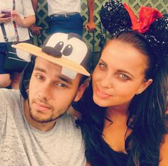 Liam Payne & Sophia Smith Go On Adorable Disney World Date — Cute Pics
