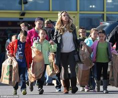Back in the spotlight: Kate Plus 8 is scheduled to return in December on TLC, pictured in March with her adorable brood
