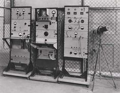 Linear accelerator; measuring and control panels, 1948. IET Archives NAEST 211/02/14/02 D.8221