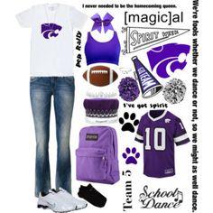 Spirit Week: Purple and White Day School Spirit Days, Homecoming Week, White Day, School Colors, Purple, Viola
