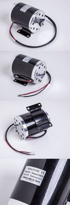 Parts and Accessories 11332: 500W 24V Electric Motor W Bracket F Scooter Bike Go-Kart Minibike My1020 BUY IT NOW ONLY: $59.9