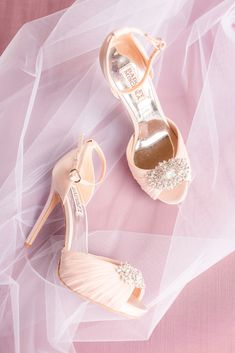 Blush heels for the bride. Check out this beautiful spring wedding at Grand Cascades Lodge at Crystal Springs Resort in Hamburg, NJ. Nj Wedding Venues, Lodge Wedding, Crystal Springs Resort, Blush Heels, Plus Size Wedding Guest Dresses, Elegant Couple, Romantic Weddings, Spring Wedding, Bridal Dresses