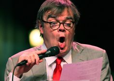 "see Garrison Keillor in person again and again, even though I've seen him at least 4 times in person.  One of the best parts is the ""group sing"", usually at the end."