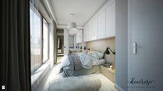 Apartament na Powiślu, 62,9 m². - zdjęcie od Decoroso Architektura Wnętrz - Sypialnia - Styl Skandynawski - Decoroso Architektura Wnętrz