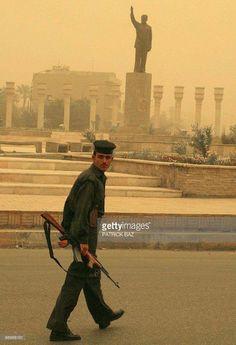 آخر صورة قبل احتلال بغداد