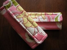 Sew Totally Smitten: Simple Car Seat Strap Covers