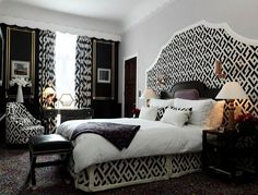 Guest bedroom ideas, Do you have a lot of guests? So, how did you prepare your guest bedroom? What are your guest bedroom decorating ideas? White Bedroom Design, White Bedroom Decor, White Interior Design, Interior Design Living Room, Bedroom Ideas, Bedroom Designs, Bedroom Inspiration, Design Interiors, Decor Room