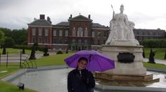 This is me at Henry the 8th's house in London