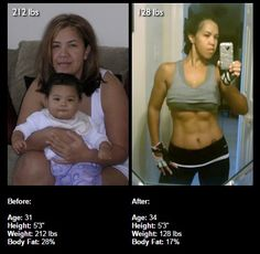 WOW!  Bodybuilding.com Female Transformation of the week http://www.bodybuilding.com/fun/lena-lost-84lbs-to-prove-more-than-average-mom-superstar.htm