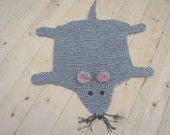 Flat rat rug/ blanket/ cat bed