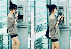 Casual chic! Luv♥