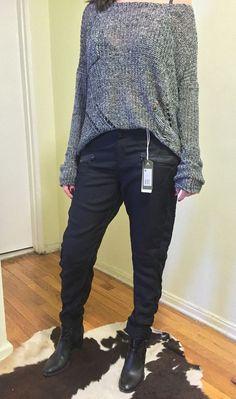 RAW G-Star Vin Loose Tapered Pants Women Black. Fashion Love #GStar #Cargo