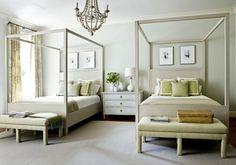 Guest room colours? Paint bed this colour?