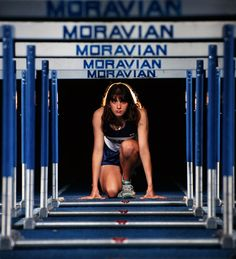 senior girl photo picture posing ideas #photography #track #hurdles