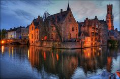 Brujas | Flickr - Photo Sharing! Night Shot, Cathedral, Shots, Explore, Building, Travel, Bruges, Viajes, Buildings