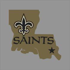 New Orleans Saints #5 NFL Team Logo Vinyl Decal Sticker Car Window Wall Cornhole | Home & Garden, Home Décor, Decals, Stickers & Vinyl Art | eBay!