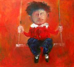 Mel McCuddin, A Privileged Child 2006, oil on canvas