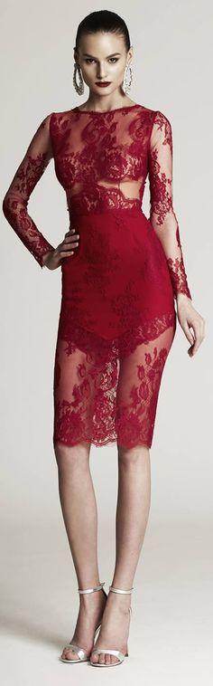 Merry Christmas / Haute in Philadelphia. karen cox. Red and Glamorous. Cristina Savulescu Dress