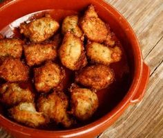 Crab Fritters & Spicy Aioli Recipe   from Oliver Beckert   @Allison House & Home