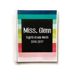 Teacher Lesson Planner  Personalized Lesson by FarmGirlJournals