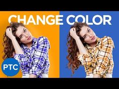 How To Change The Color of ANYTHING In Photoshop | Select and Change ANY Color - YouTube