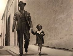 Gary Cooper and Shirley Temple - 1933
