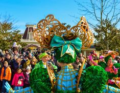 Colorful Garden Costumes in Goofy's Garden Party, Swing into Spring at Disneyland Paris