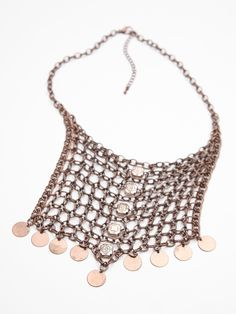 Free People Chainmail Collar