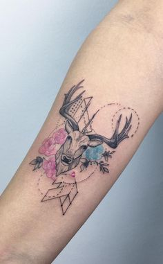 Cool deer design by Baris Yesilbas