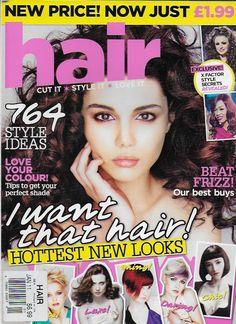 Hair magazine Style ideas Best buys Celebrities looks Color Salon confidence