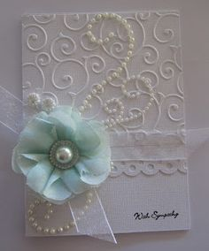 kerrie gurney [its all about ME]: Embossed Cards with Couture Creations