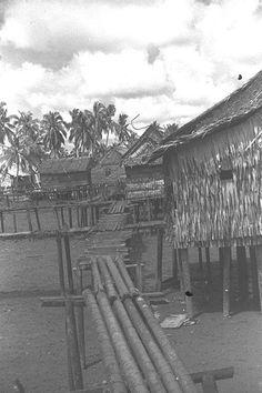 MALAY KAMPONG IN BEDOK 1962