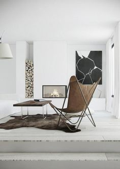Interior designer (and real estate developer) Katty Schiebeck has a signature style. White and ...