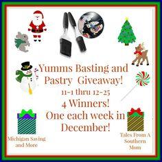 Ogitchida Kwe's Book Blog : Yumm's Basting and Pastry Giveaway!